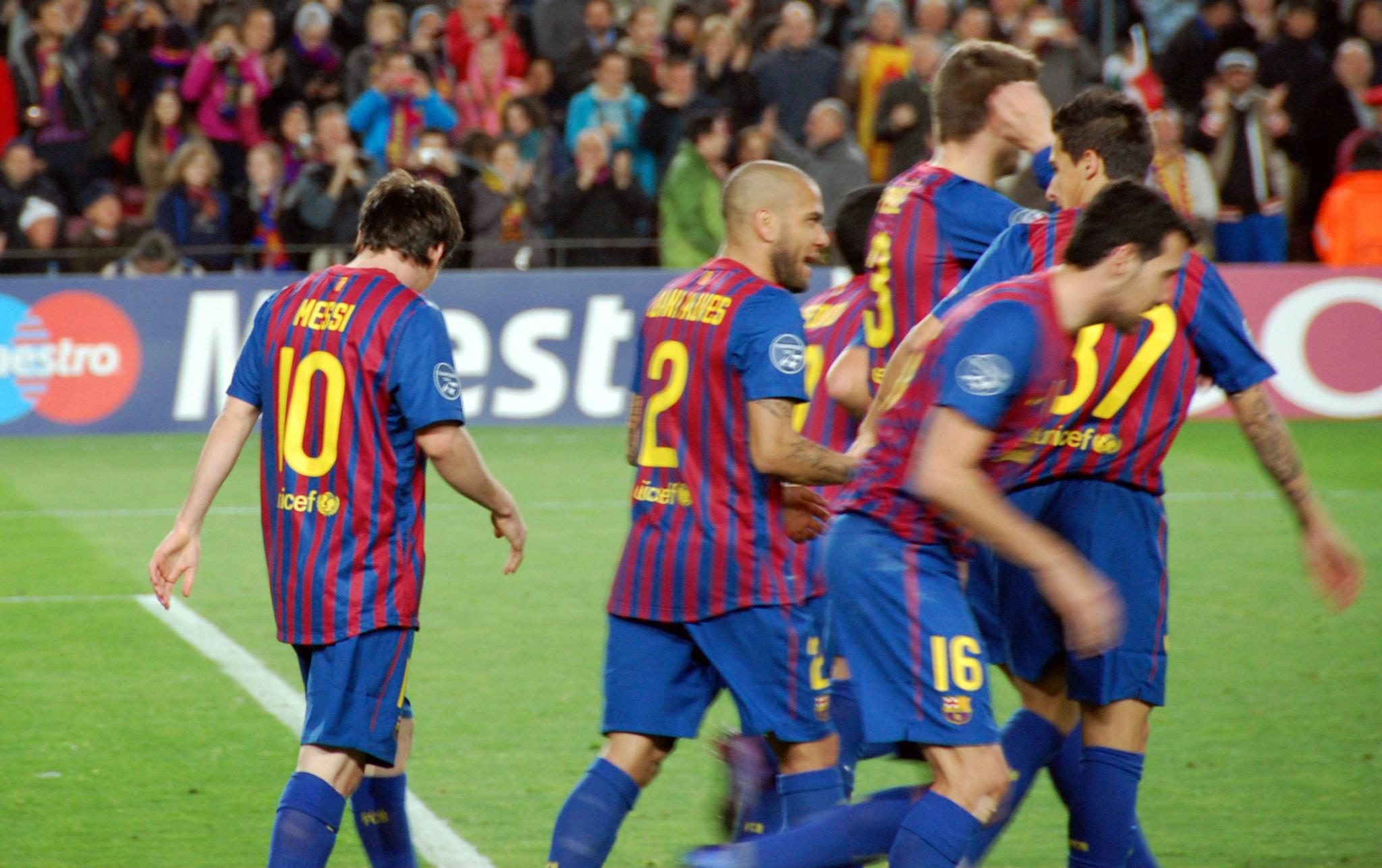 Barcelona Fc: Bayer 04 Leverkusen, 7 Mar 2012 (18