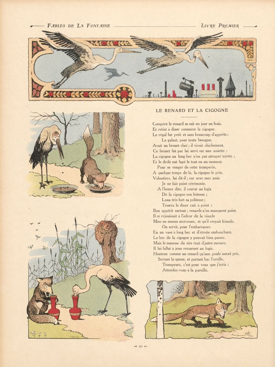 File Fables 16 Renard Cigogne Jpg Wikimedia Commons