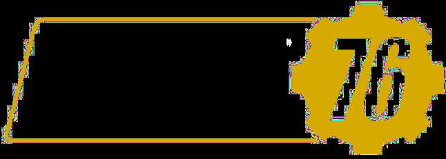 Resultado de imagem para fallout 76 logo png