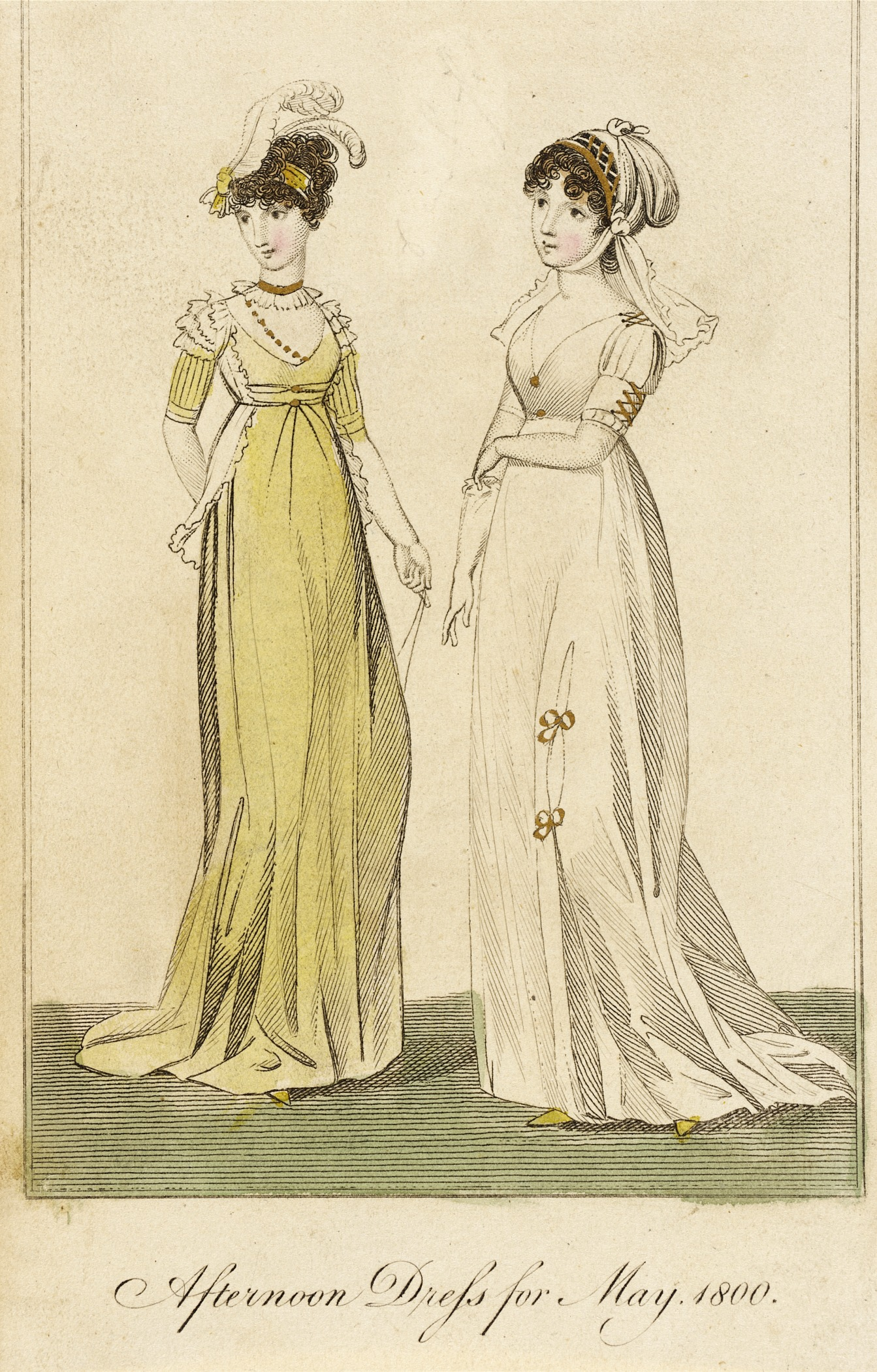 File:Fashion Plate (Afternoon Dress For May, 1800) LACMA M