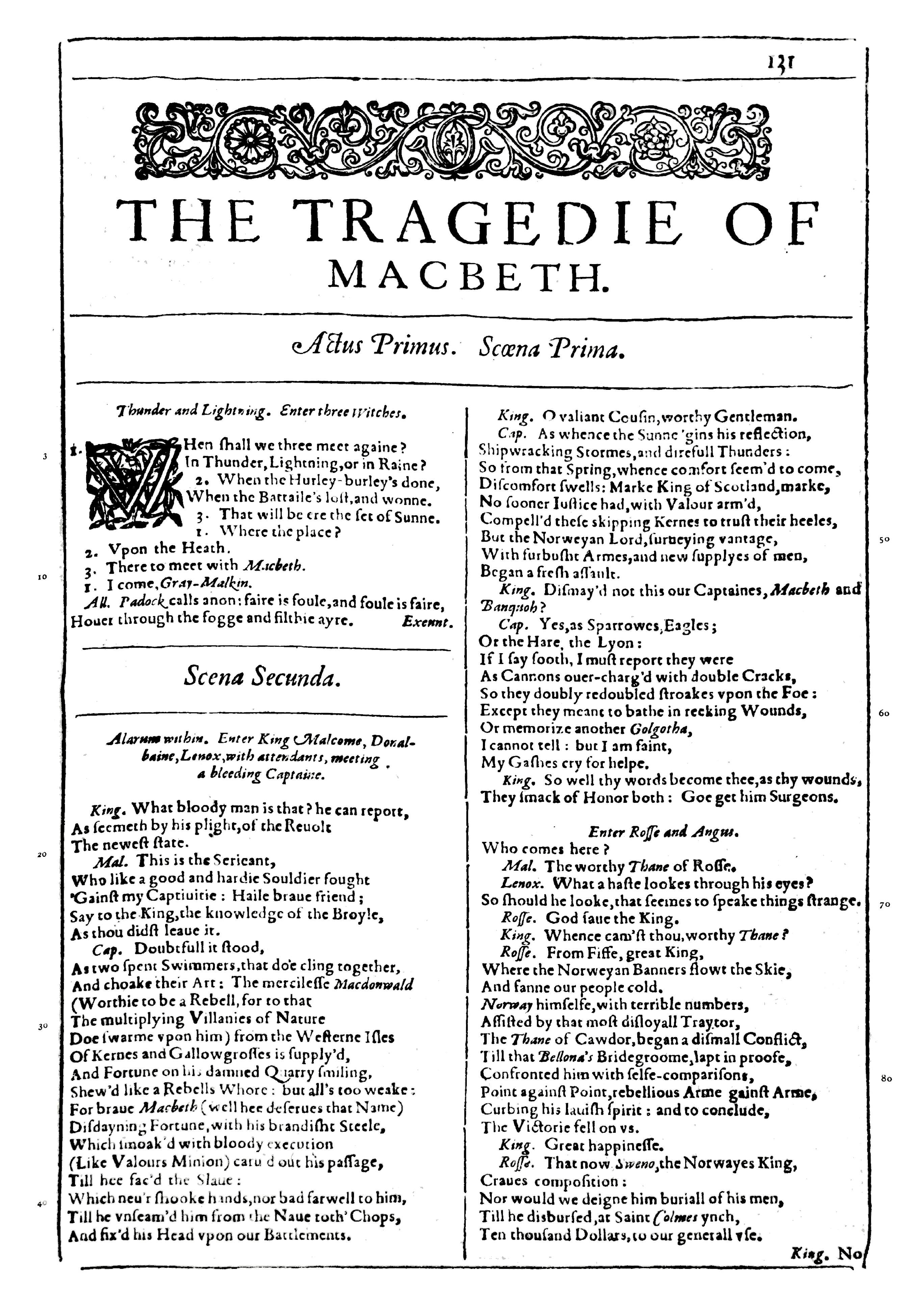 Macbeth Toneelstuk Wikipedia