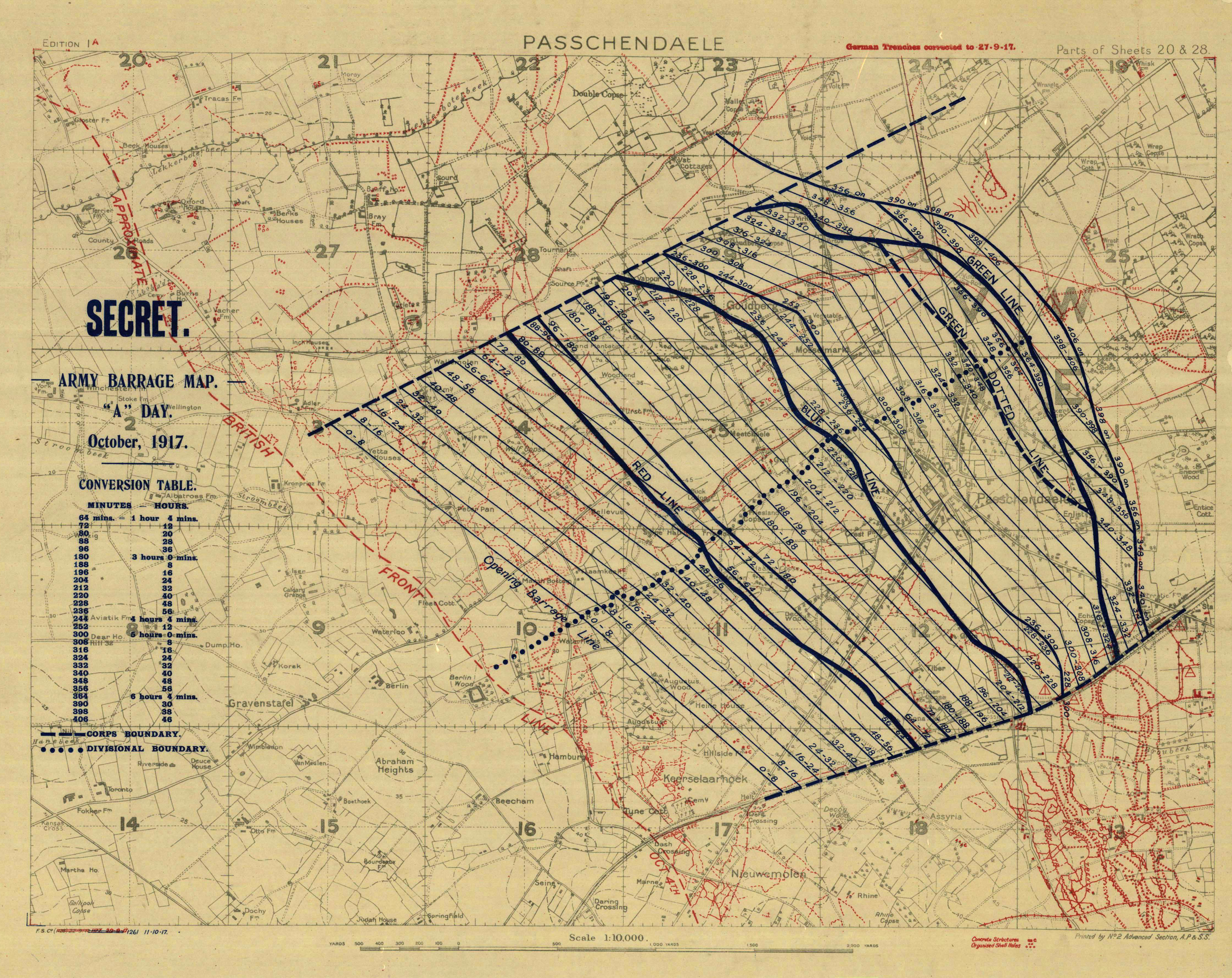File First Battle of Passchendaele barrage Wikimedia Commons