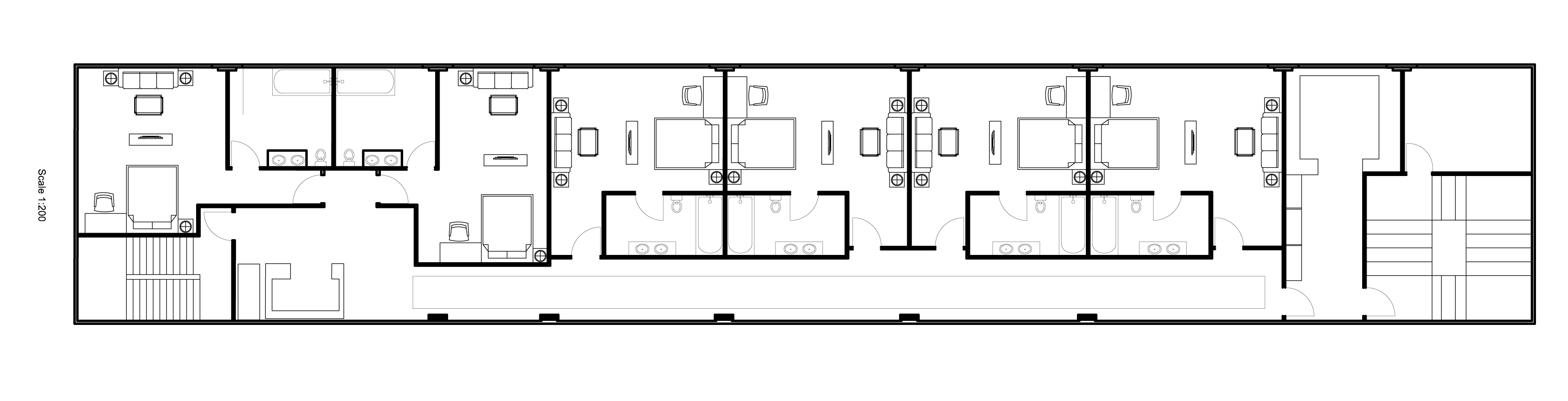Hotel Room Floor Plan Dwg