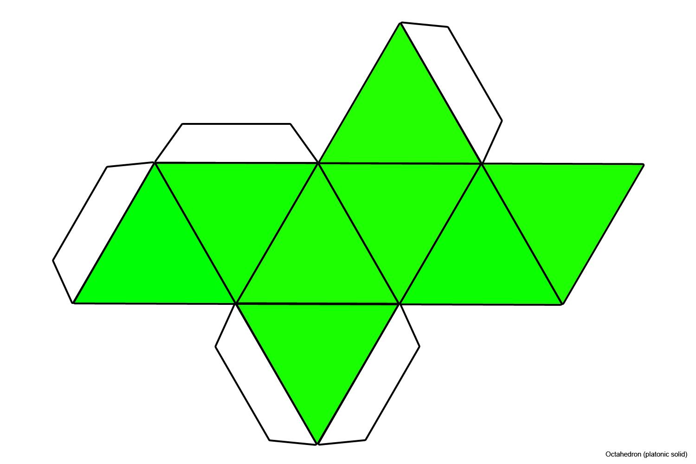 File Foldable Octahedron Coloured Jpg Wikimedia Commons