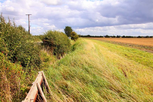 File:Footpath along the edge of the field - geograph.org.uk - 1469589.jpg