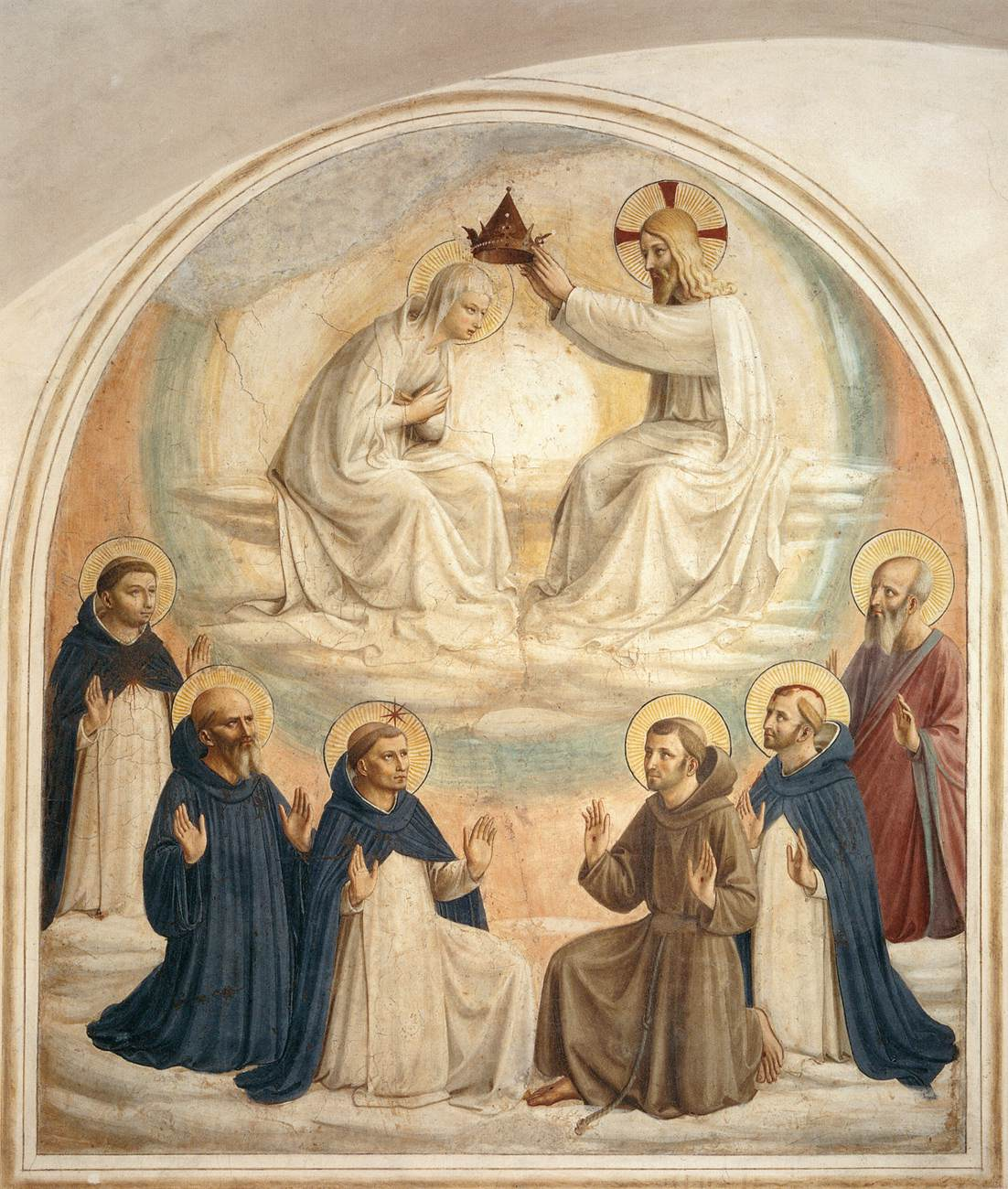 File:Fra Angelico - Coronation of the Virgin (Cell 9) - WGA00543.jpg - Wikime...