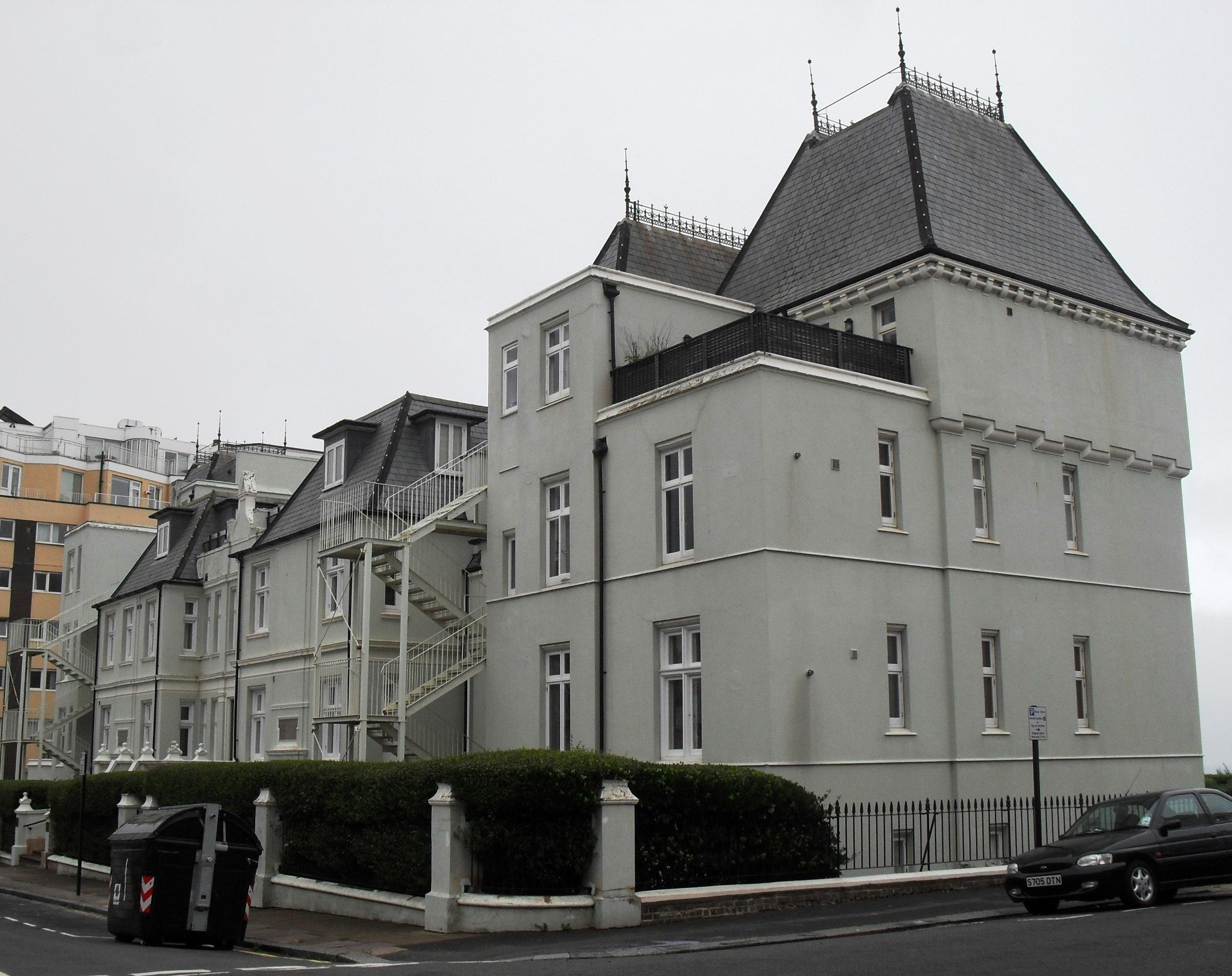 File French Convalescent Home De Courcel Road Brighton July 2010