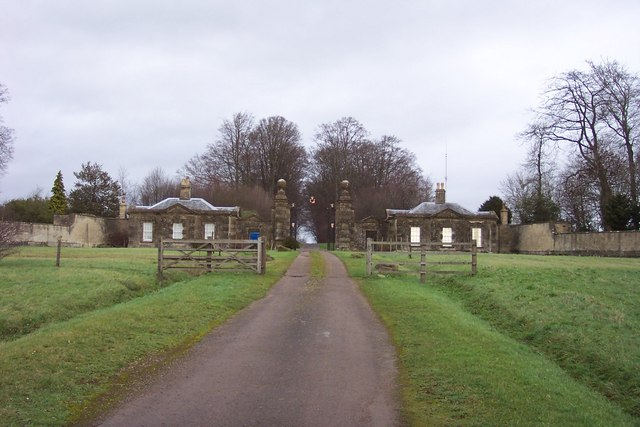 Gatehouses by the entrance to Sherborne Park - geograph.org.uk - 293455