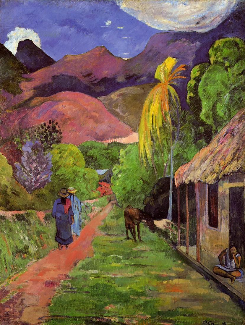 File:Gauguin - Rue de Tahiti.jpg - Wikimedia Commons