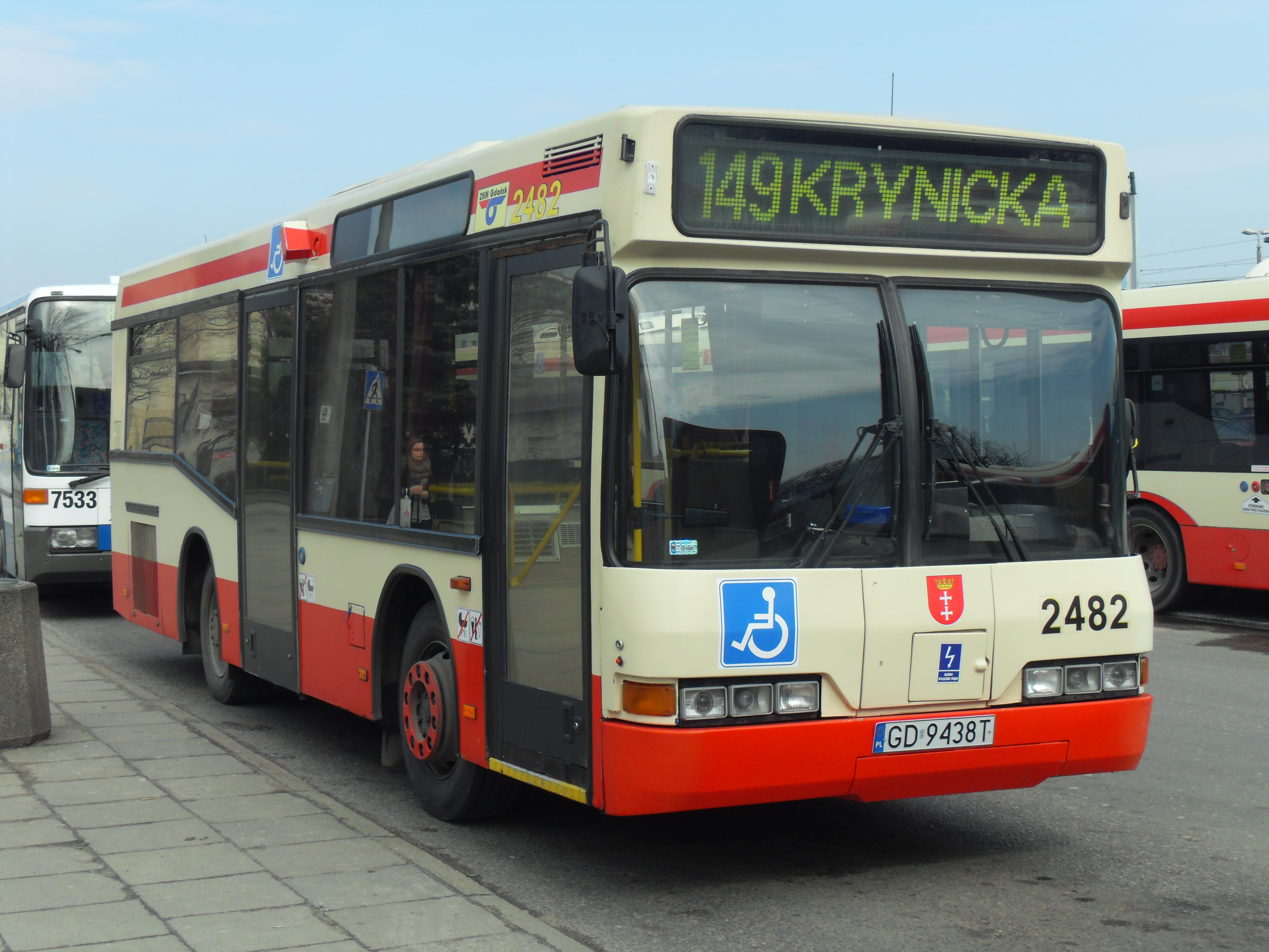 Ogromny File:Gdańsk ulica Dmowskiego (autobus 149).JPG - Wikimedia Commons AE68