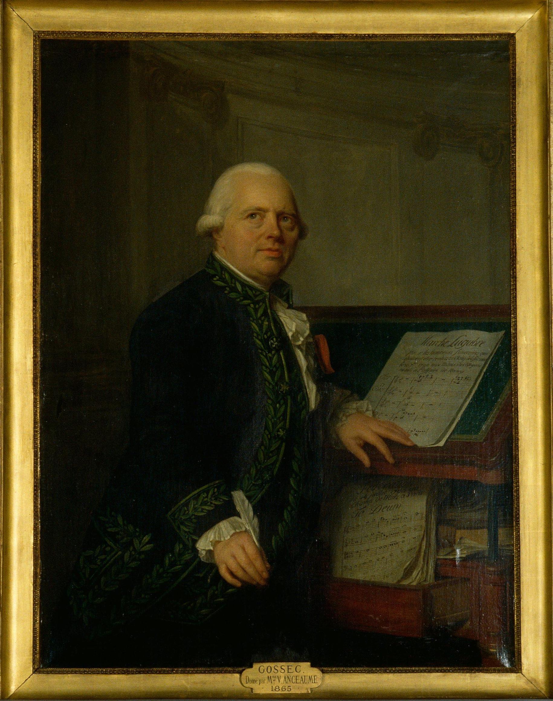 François-Joseph Gossec, by [[Antoine Vestier]]