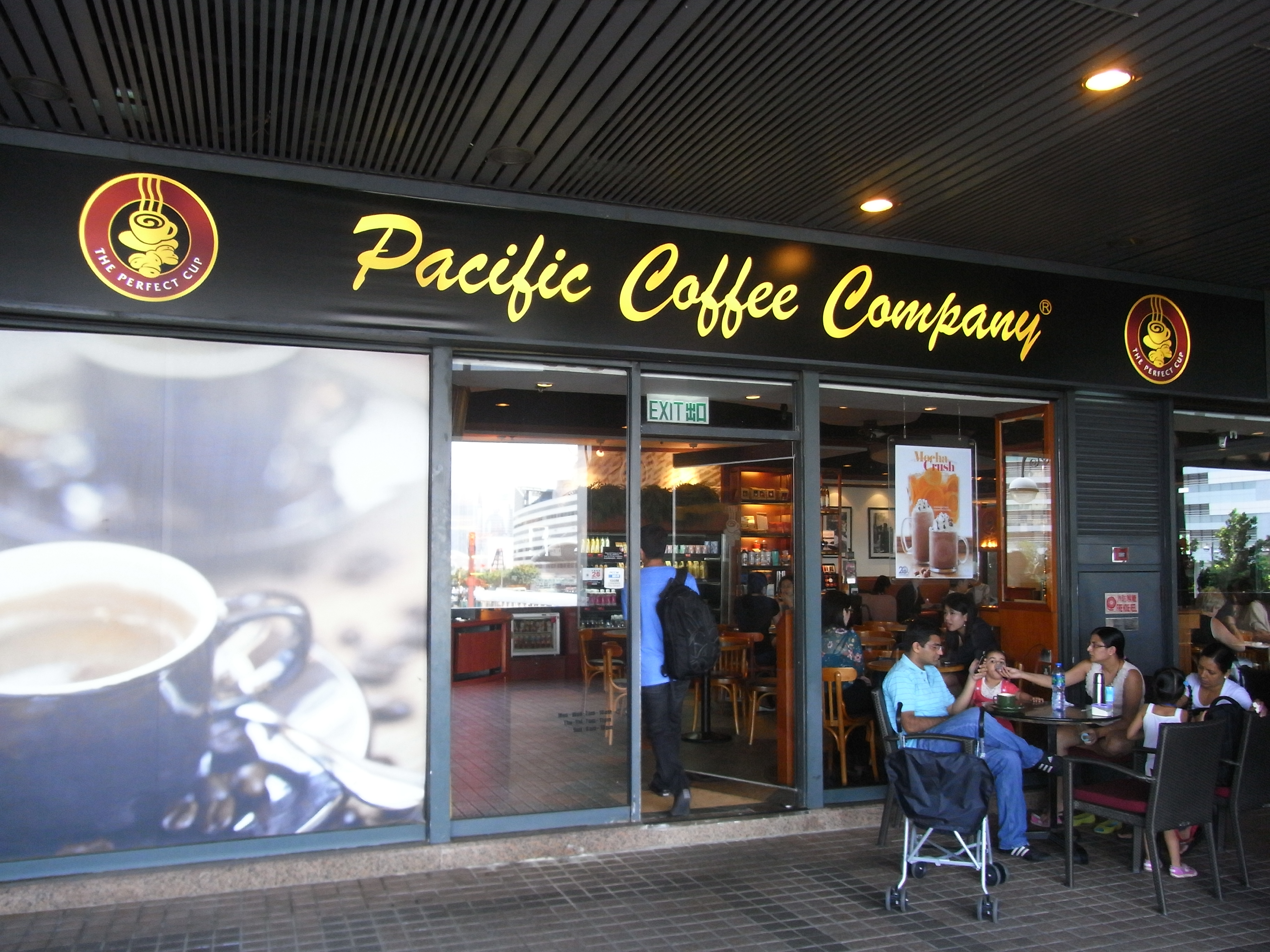 File Hk Wan Chai North Restaurant Pacific Coffee Company N Visitors Oct 2017