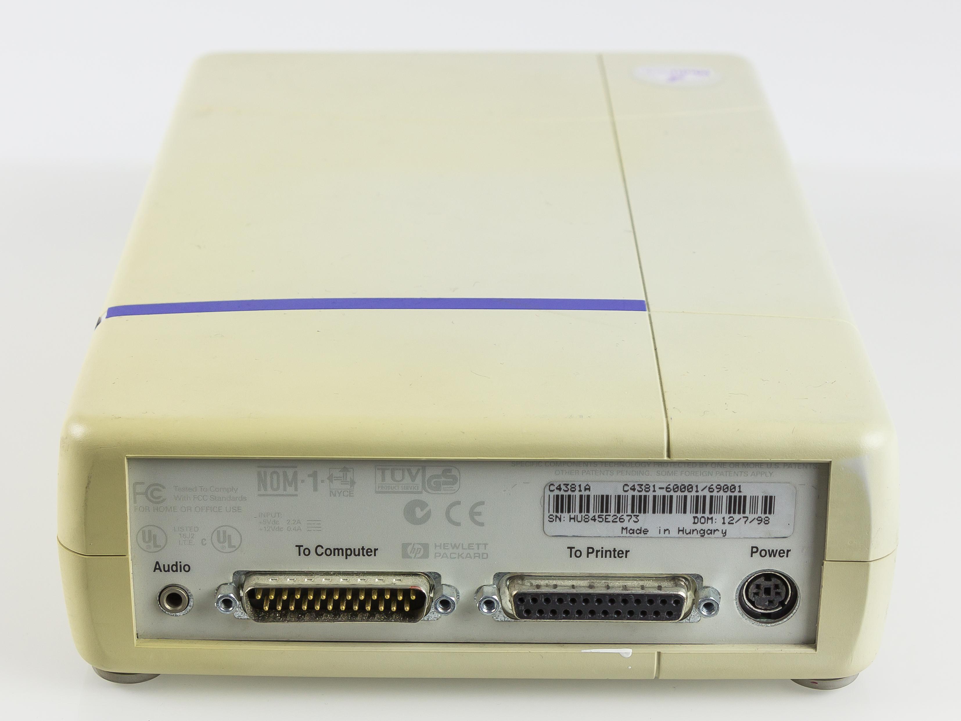 HP USB CD-Writer cd4e - drivers for windows 7 FOUND