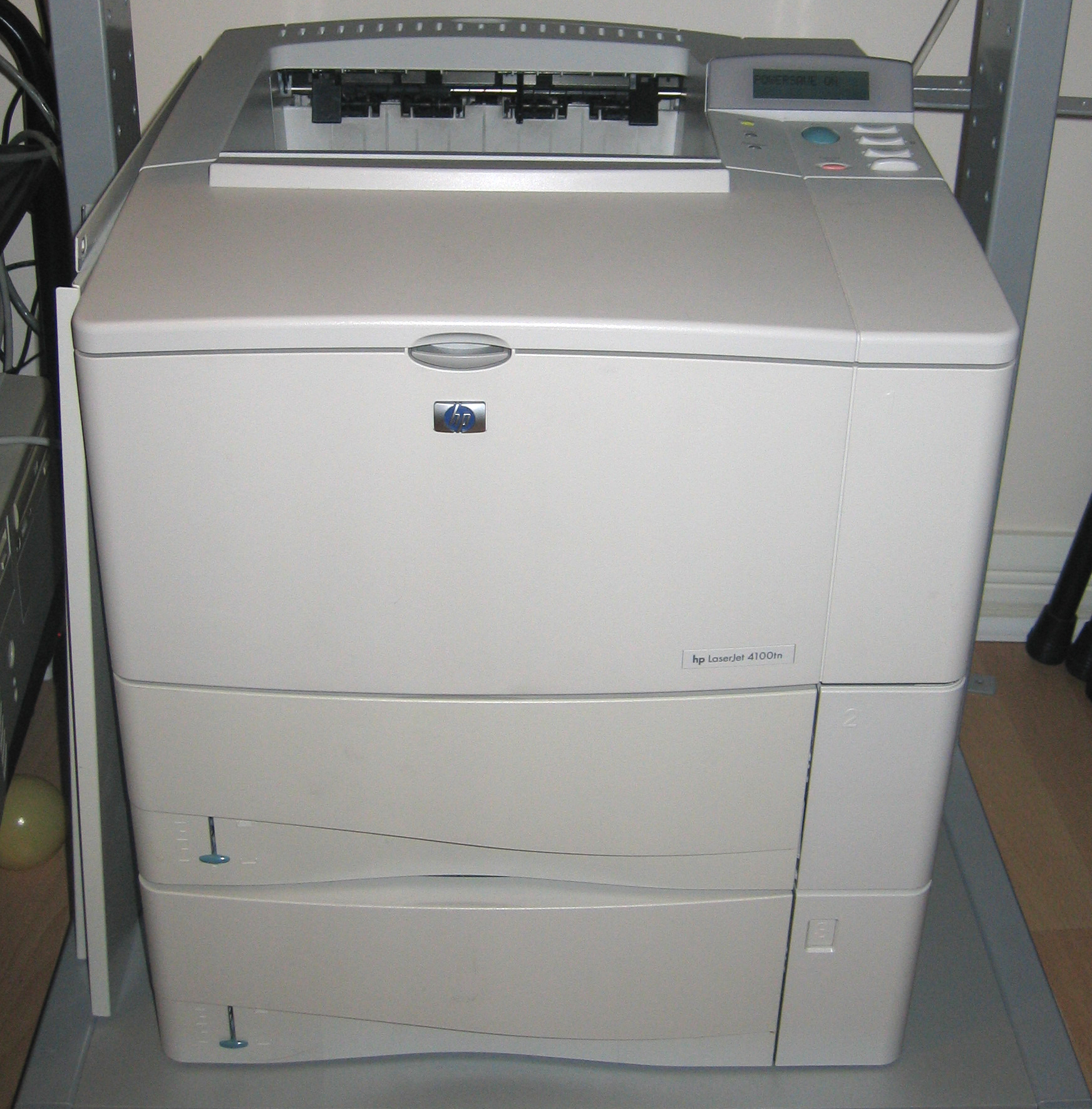 NEW DRIVERS: HP LASERJET P4105N