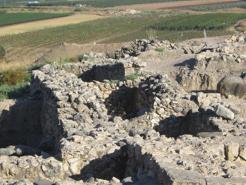 Tell Hazor in Israel - vergrößerbar