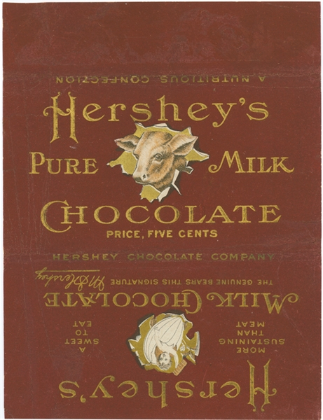 hersheys wrapper