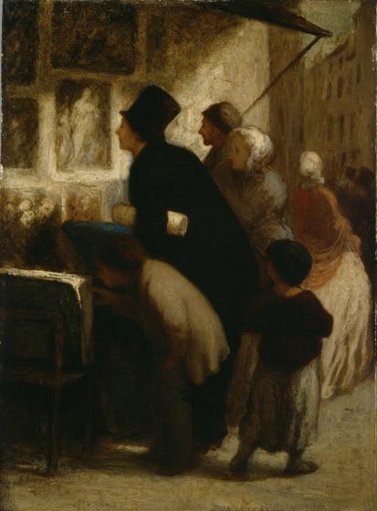 File:Honoré Daumier - En dehors de la boutique du marchand d'estampes (1860-1863).jpg
