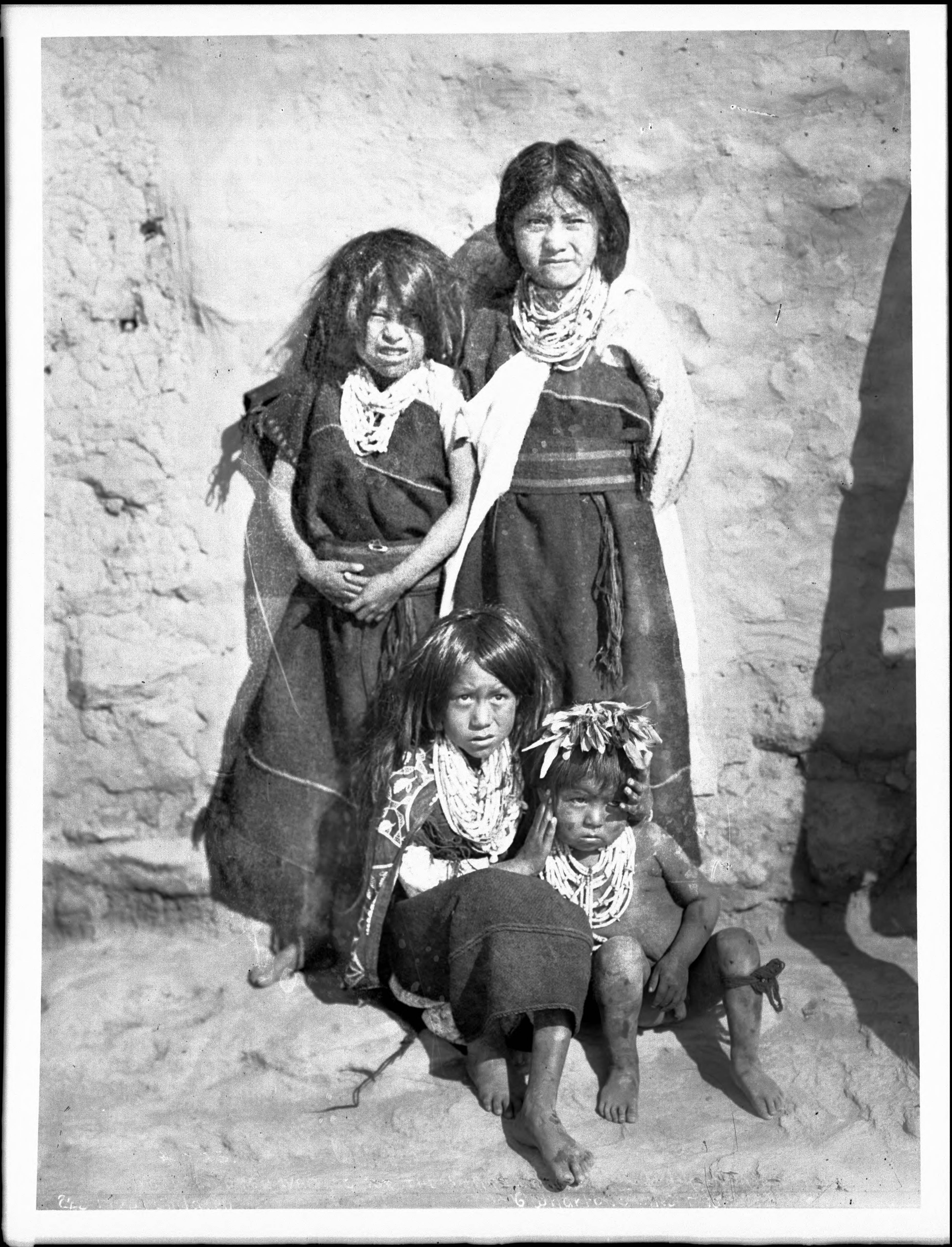 File:Hopi children from a well-to-do family waiting for ...