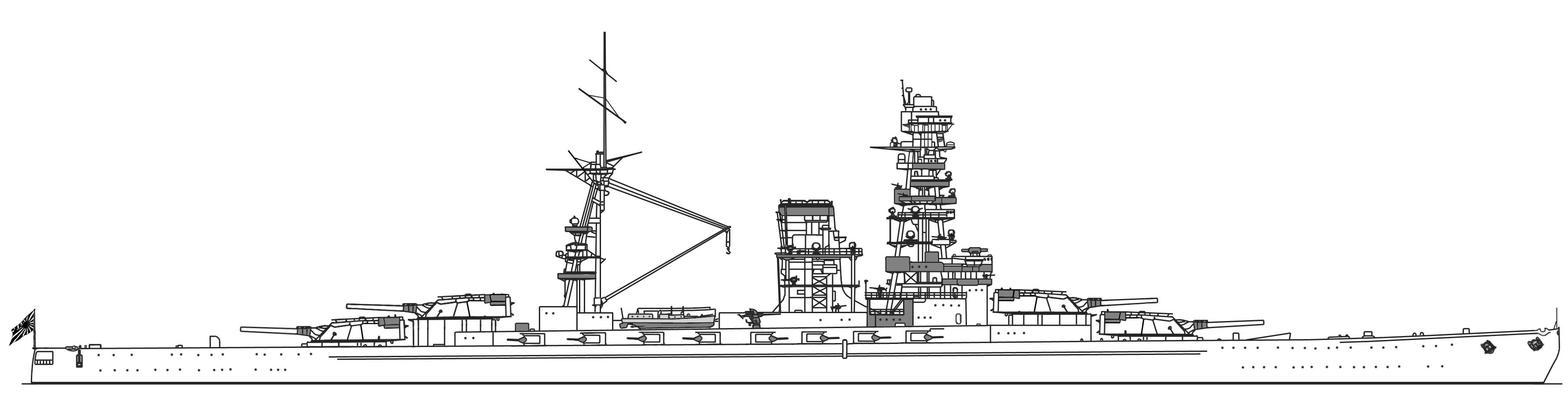 File Ijn Battleship Design Of Project 13