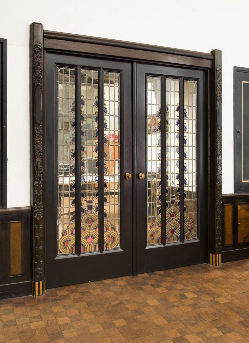 File interieur de tussendeur naar de achterkamer for Interieur amsterdam