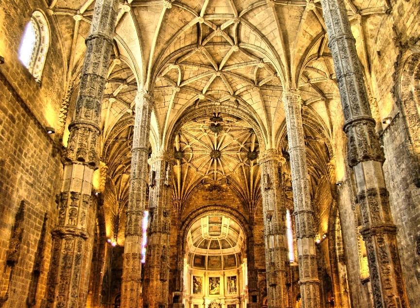 Portugal el monasterio de los jer nimos lisboa for Portal del interior
