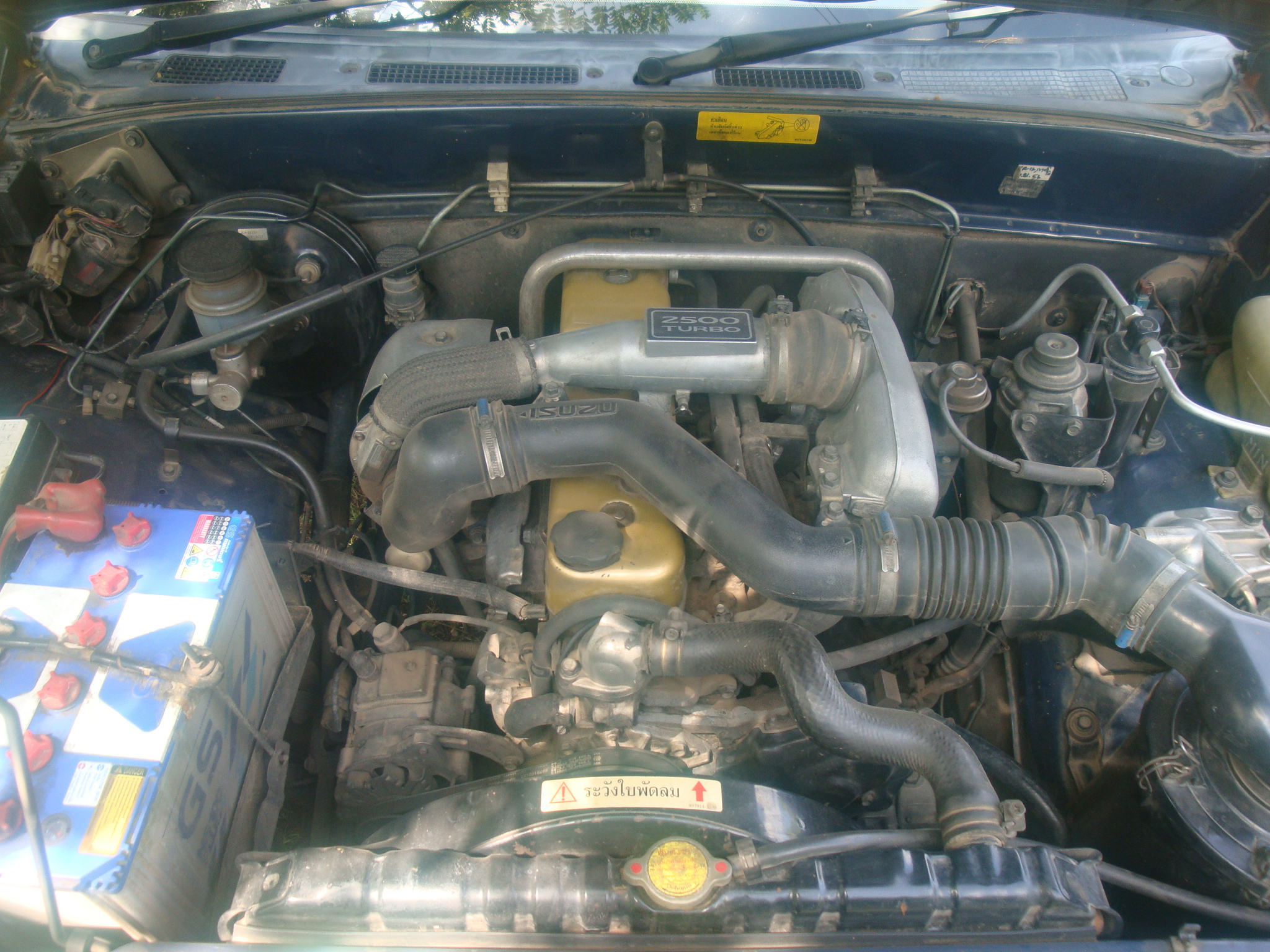 File:Isuzu TFR engine, labeled 2500 turbo (16015888918).jpg ...