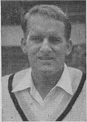 Johnny Wardle Cricket player of England.