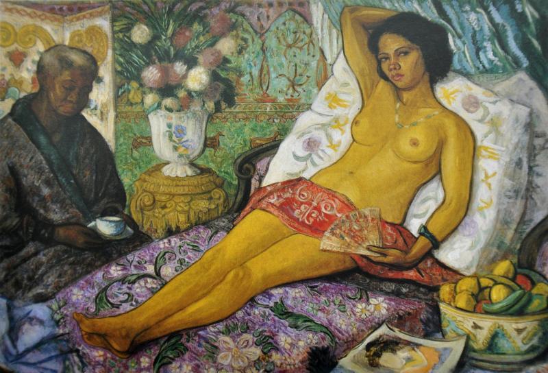 Mestiza desnuda - Juan de Echevarría (Museo Reina Sofía)