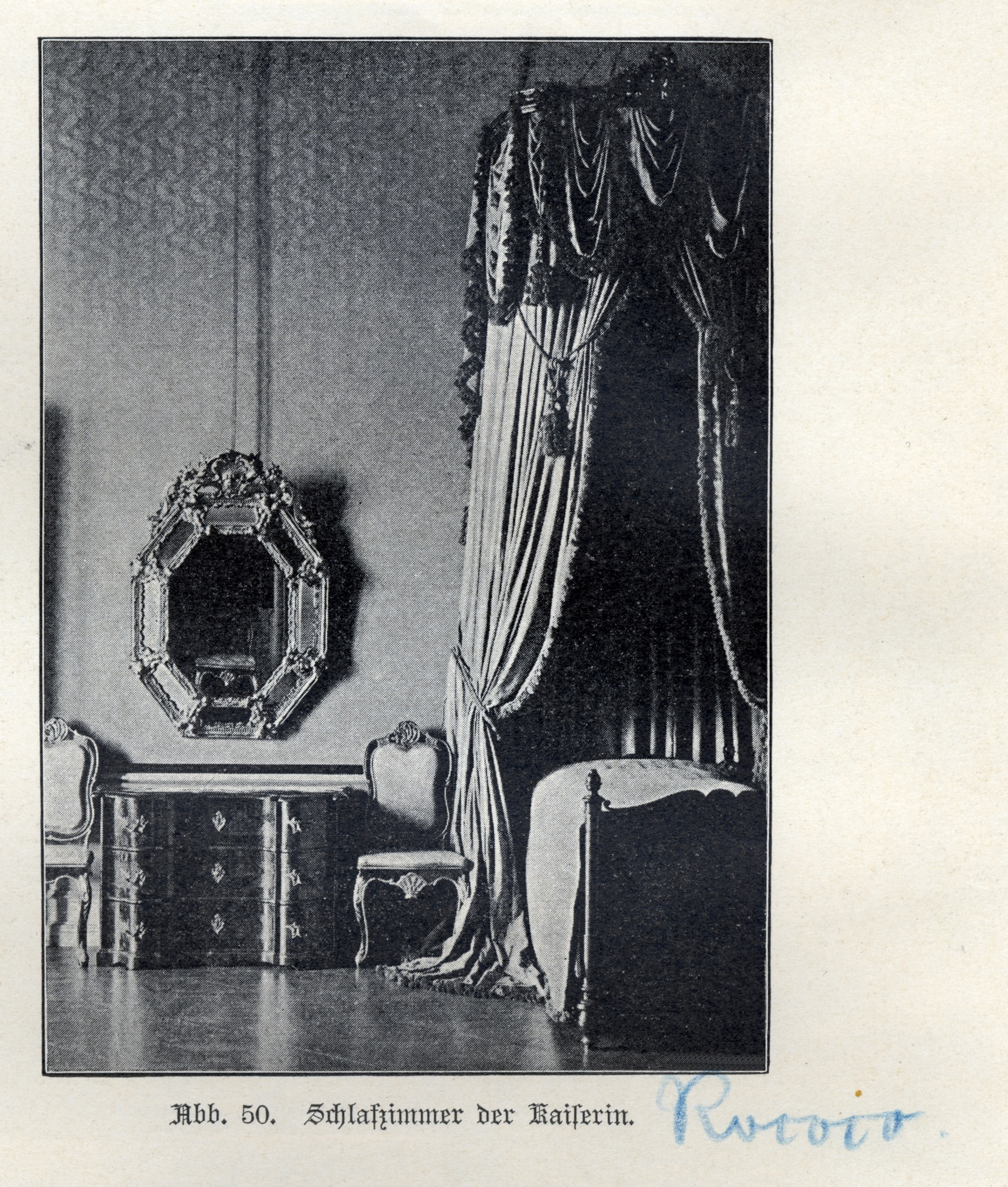 Datei:Königsberg, Schloss, Schlafzimmer, Rokoko.jpg – Wikipedia