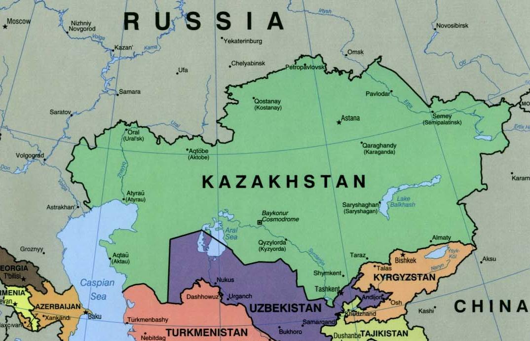 About kazakhstan british council researcher links programme in about kazakhstan kazakhstan political map 2000 gumiabroncs Images