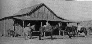 The general store at Klondyke in 1910.