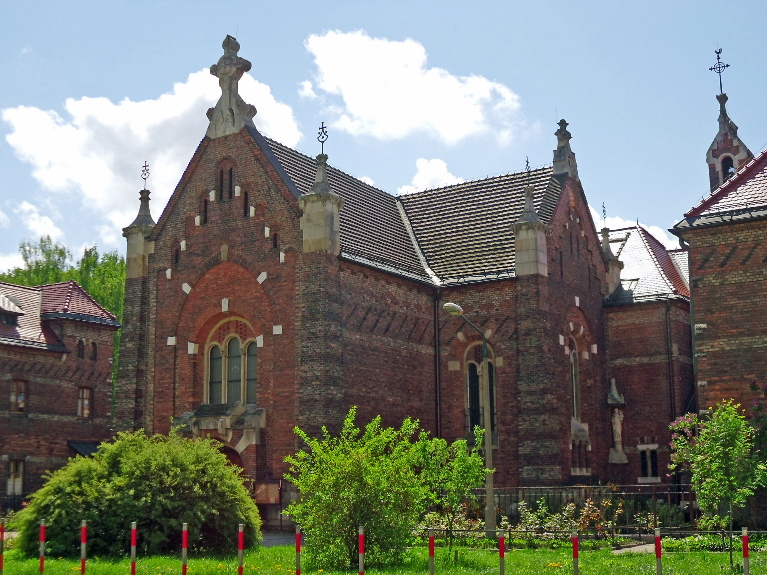 File:Krakow carmelite nuns monastery - church of st  Joseph