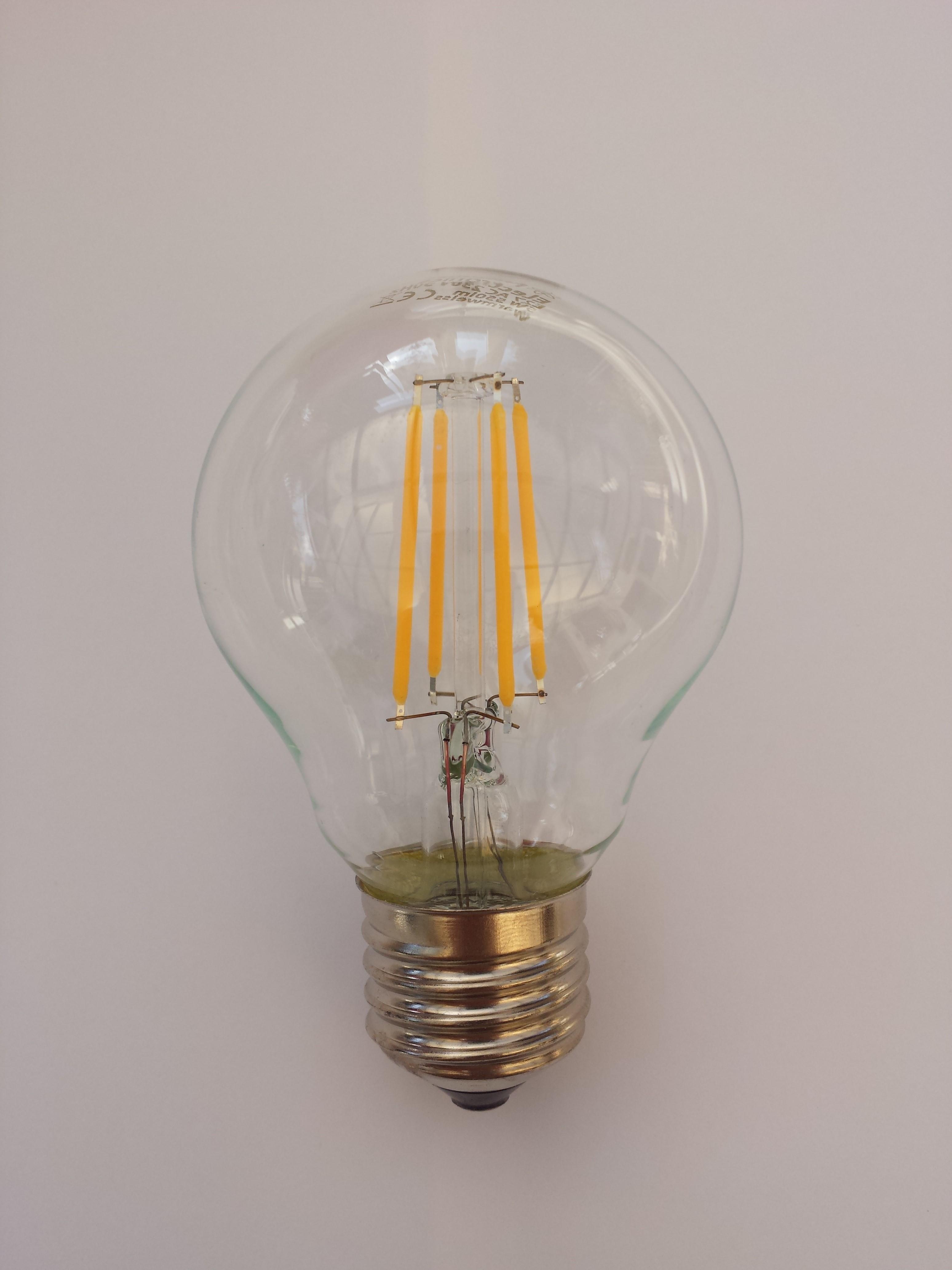 Lampade A Led A Filamento.Lampada A Filamenti Led Wikipedia