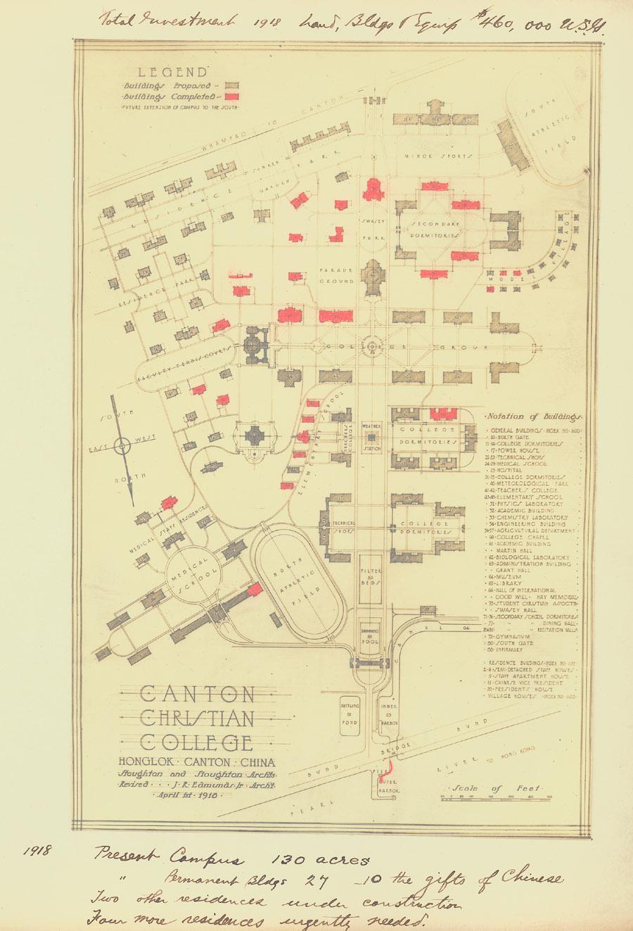 Lingnan University1918.jpg