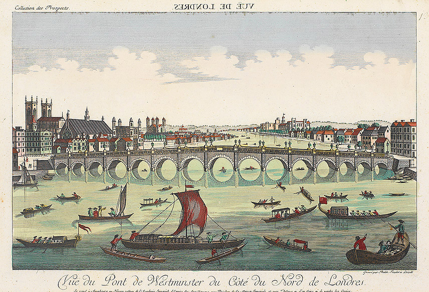 A Comparison of 'London' and 'Composed upon Westminster Bridge'