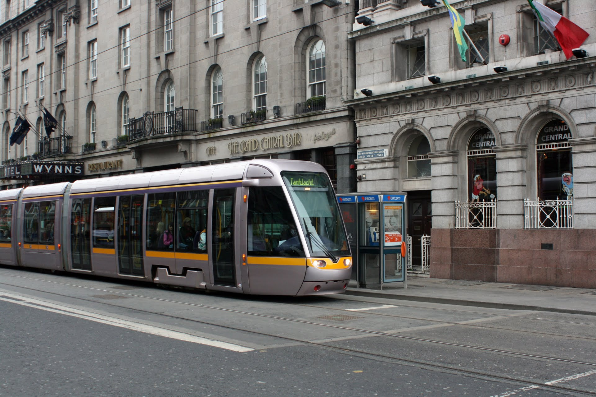 tramway de dublin wikip dia. Black Bedroom Furniture Sets. Home Design Ideas