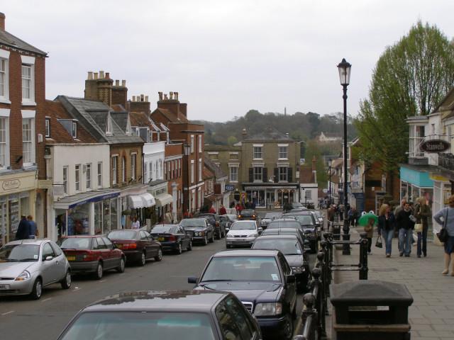 Lymington High Street - geograph.org.uk - 161283