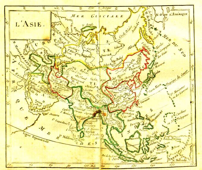 Map Of Asia In French.File Map Of Asia From French Atlas 1787 Jpg Wikimedia Commons