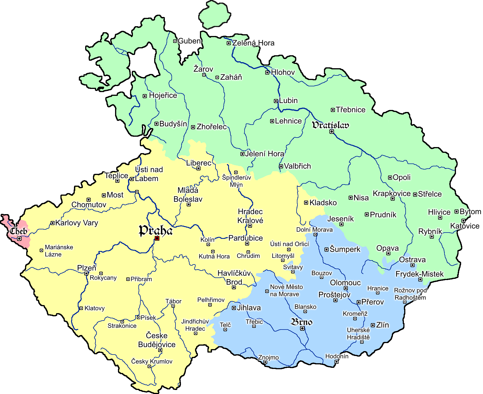 File:Map of Bohemia 1618.png