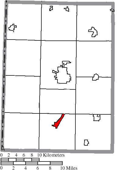 File Map Of Preble County Ohio Highlighting Camden Village