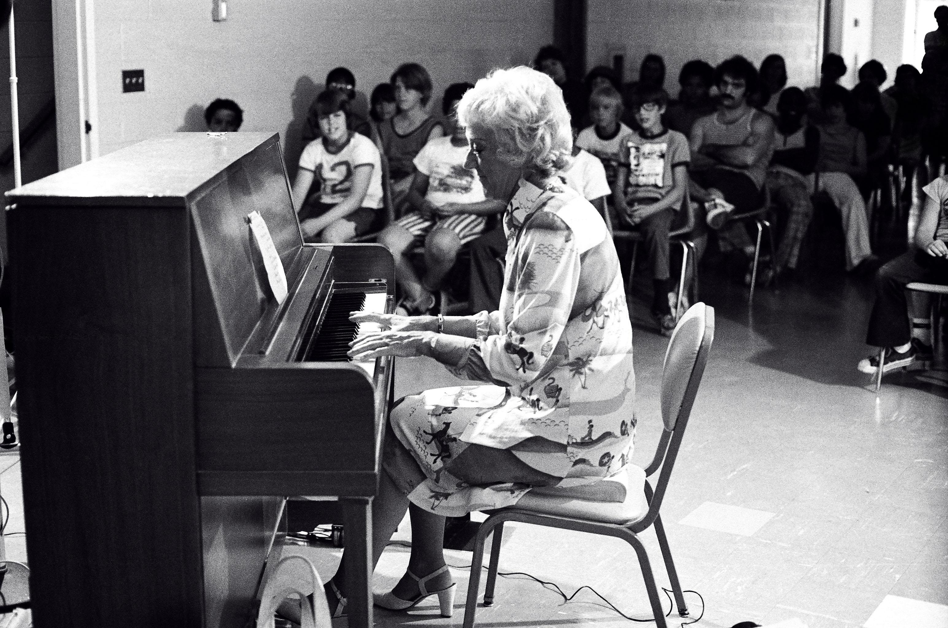 McPartland playing at St. Joseph's Villa near [[Rochester, New York|Rochester]], [[New York (state)|New York]], in 1975
