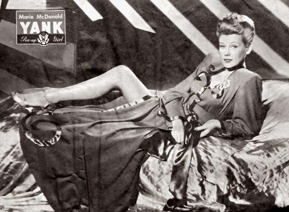 Marie McDonald Actress, singer