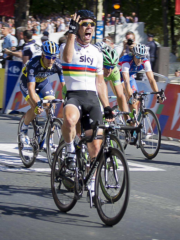 Champs Elysees Tour De France
