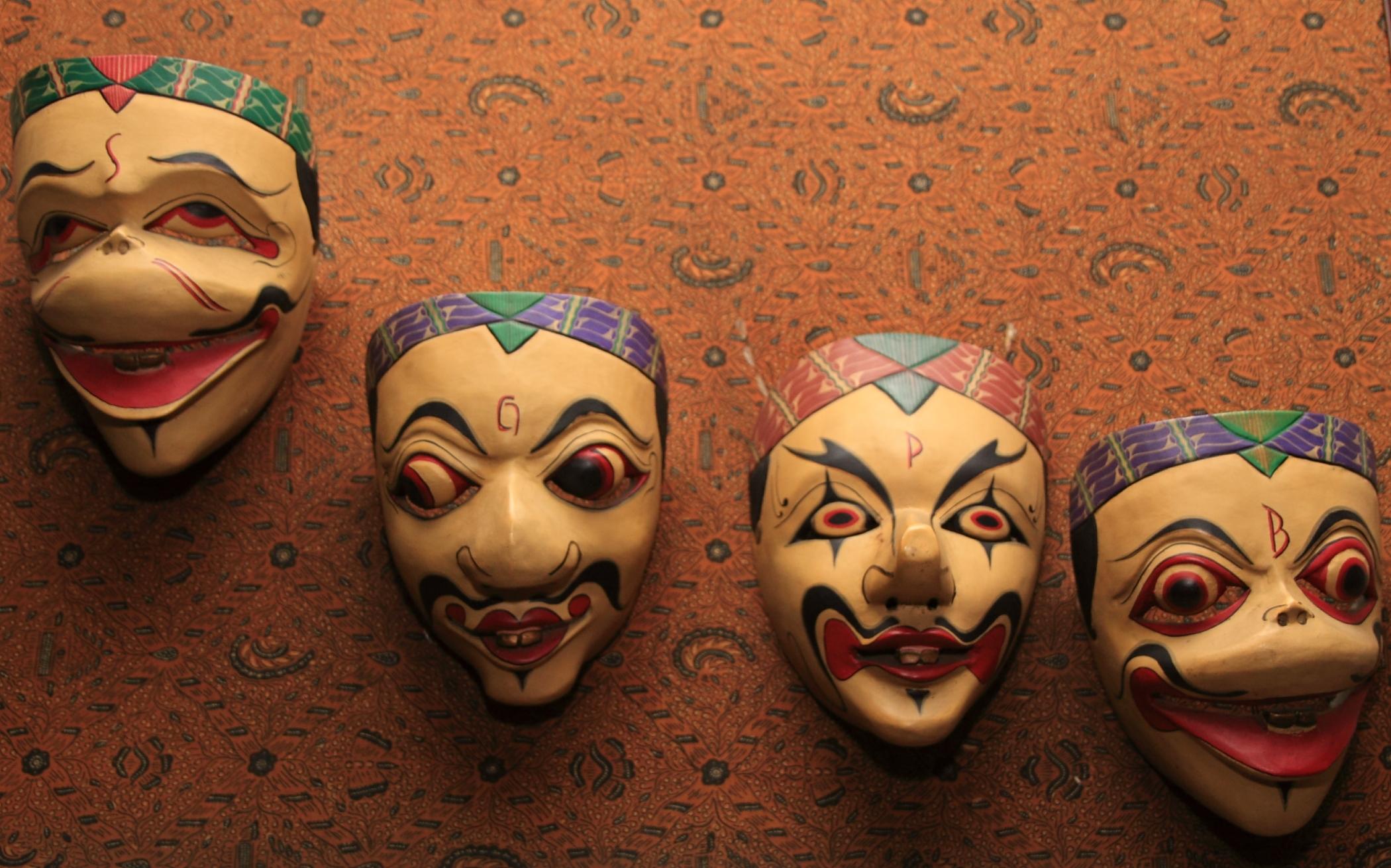 Sundanese masks