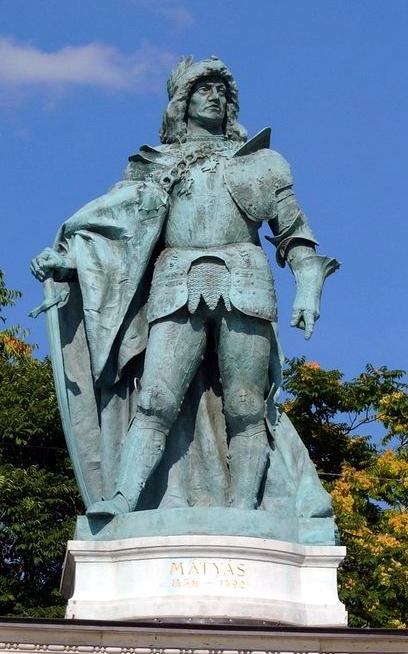 Regele Matia, statuie din Piaţa Eroilor, Budapesta