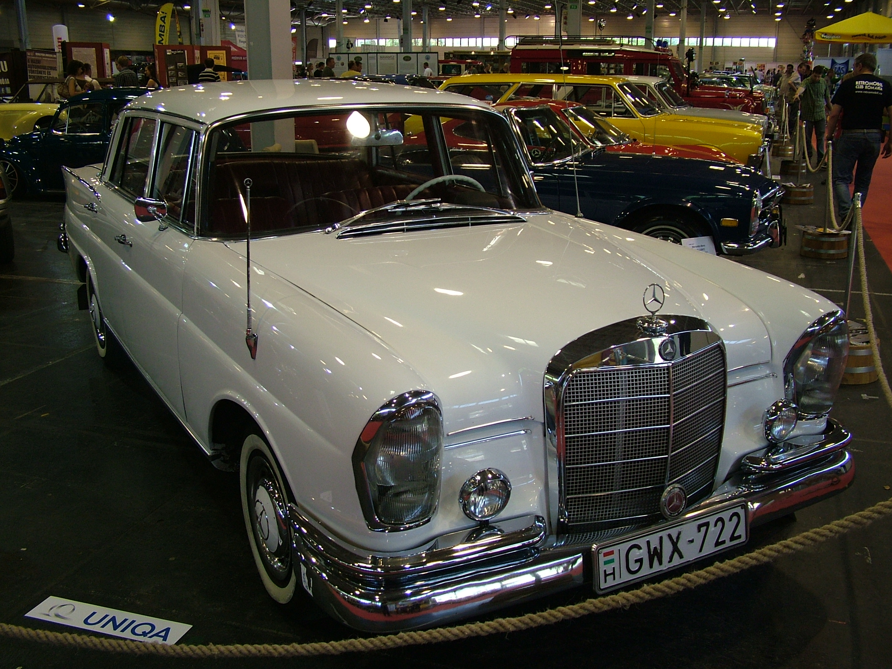 mercedes 230 1965