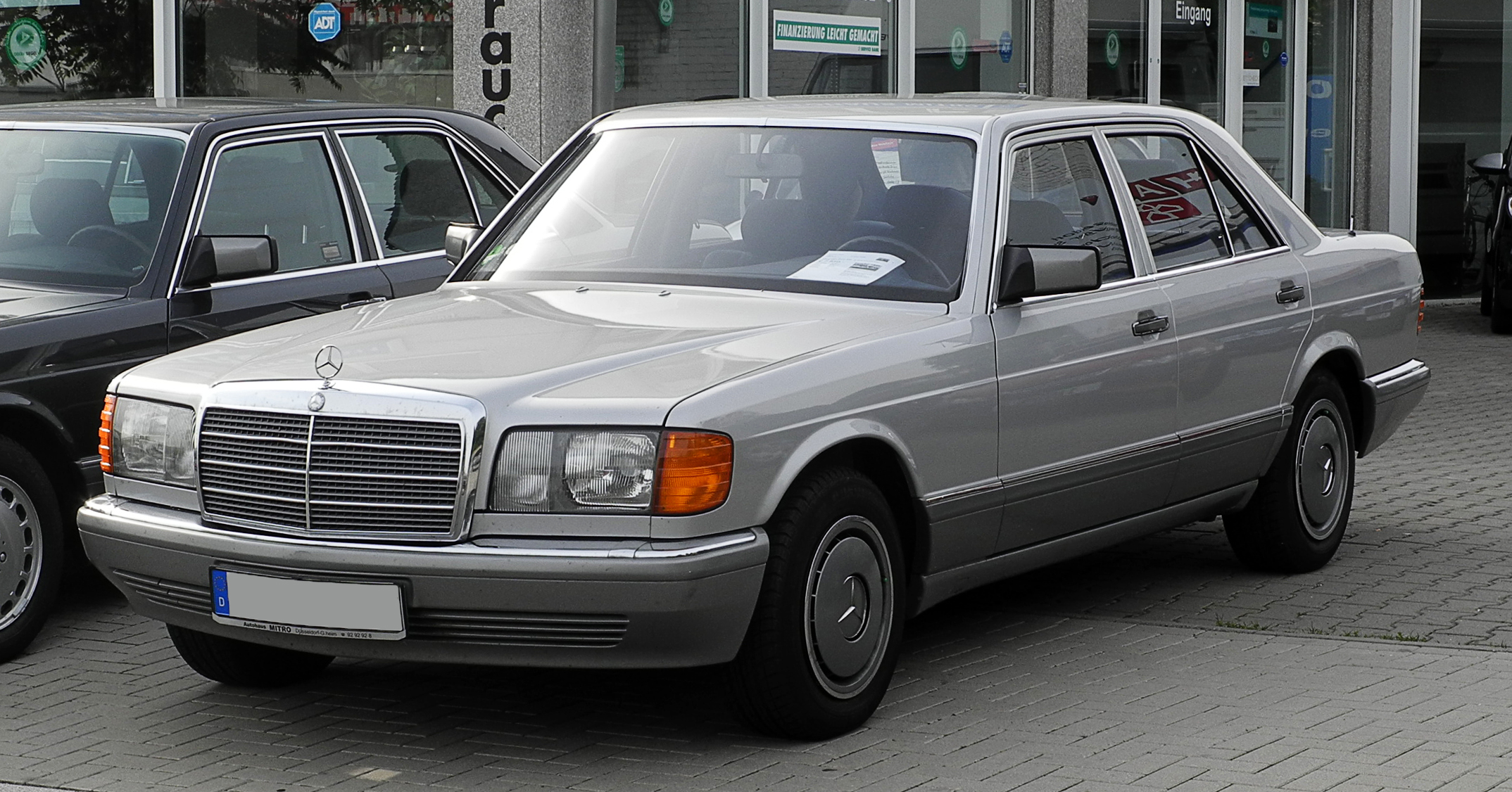 File mercedes benz 300 se w 126 facelift frontansicht for Mercedes benz w
