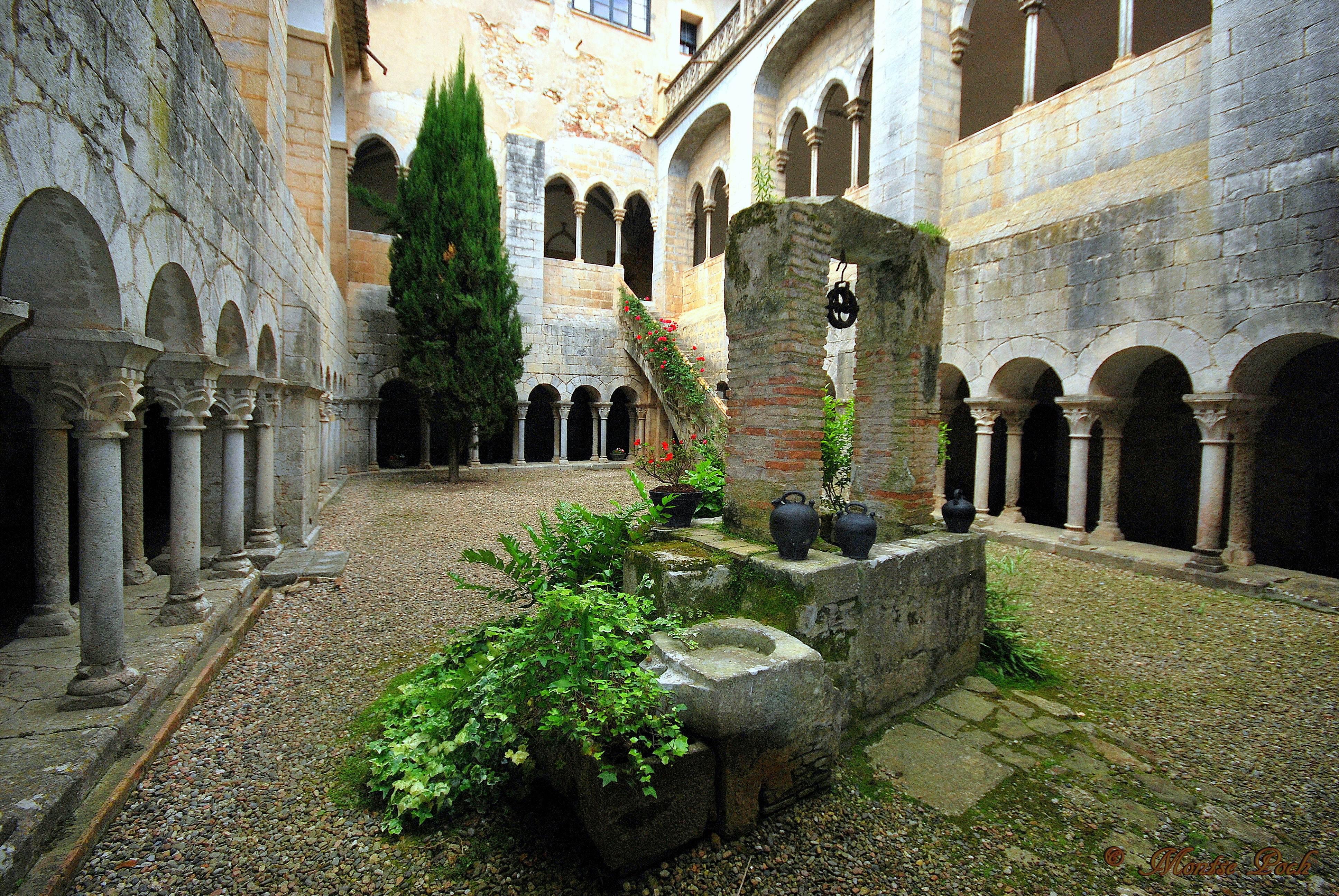 Fitxer monestir de sant daniel girona viquip dia l 39 enciclop dia lliure - Banos arabes de girona ...