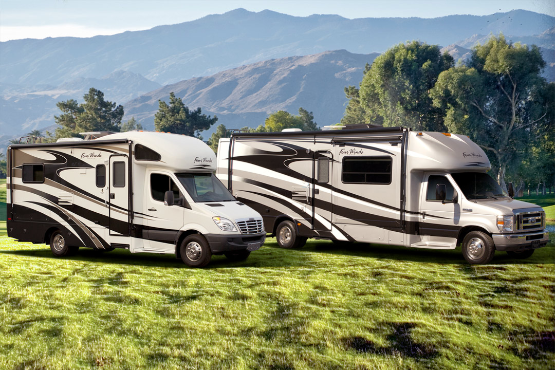Awesome If You Go With A Smaller Motorhome Say A Class