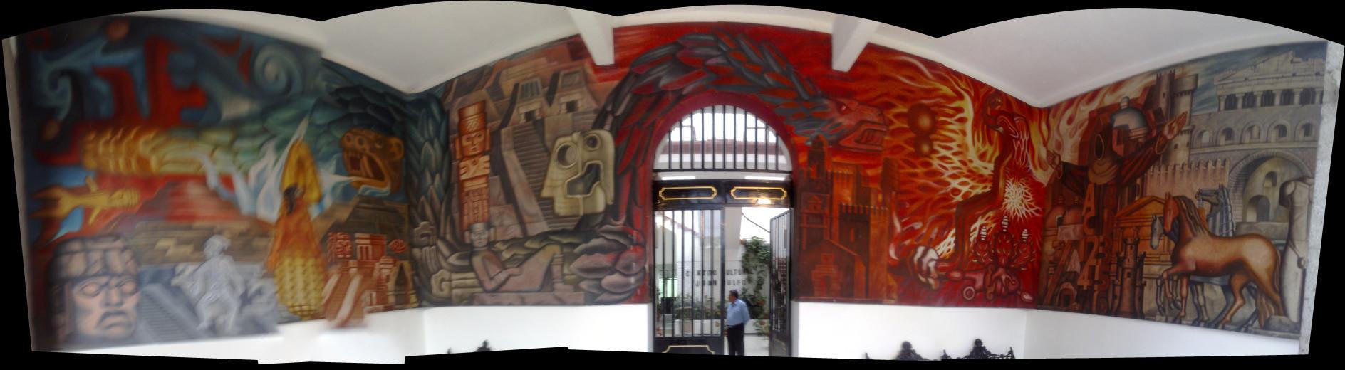 Mural Con Fotos Casa
